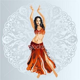 Dancer in bedlah